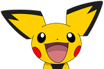 Happy shiny Pichu by kol98
