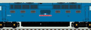 EE Deltic liveries - 55022 'Royal Scots Grey' by 2509-Silverlink