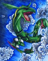 Legendary Pokemon: Rayquaza