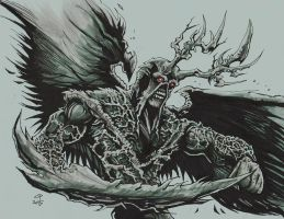 New 52 Swamp Thing by olybear