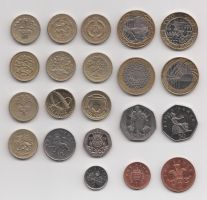UK coins by coshipi