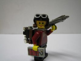 Steampunk Hero Jetpack LEGO by Maroventolo
