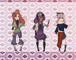 naruto adoptables [OPEN] by pepper-adopts