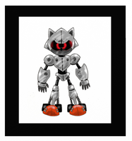 :: Upgraded Silver Sonic :: by funkyjeremi