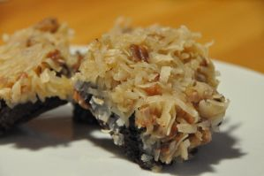 German Chocolate Brownies by epcotexpert