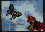 Steampunk Sky - Altered Canvas by ZarineBashire