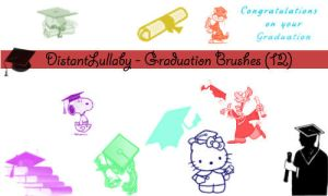 Graduation Brushes by DistantLullaby