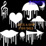 Life's a Drip Brushes by neverhurtno1