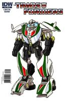 IDW wheeljack g1 colors by minibot-gears