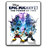 Epic Mickey 2 v1 gameicon by Ahssassin0