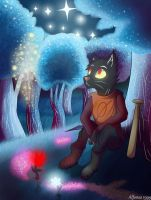 Night in the Woods by Alfonso1999