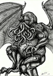 The great Cthulhu by Barguest