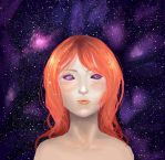 One with the cosmos.. by blugrl