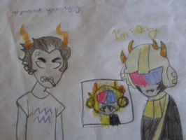 Cronus the Butthead and Awesome Mituna by Zbee8