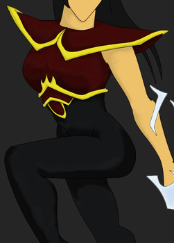 EB - Princess Azula preview by princeofknaves