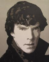 Sherlock by Papergizmo