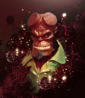 Hellboy by Maniakuk
