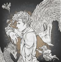 tribute to fantastic beast by RerinKin