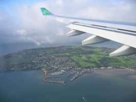 Approaching Shannon, Ireland by wkdown