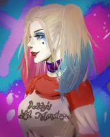 Suicide Squad's Harley by Mikoto-Emi
