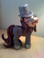 My Little Dracula Pony by customlpvalley
