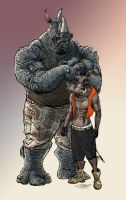 Bebop + Rocksteady by onetruth