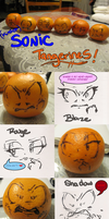 ( Kind of) Sonic Tangerines by Saphfire321