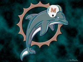 Miami Dolphins by DarkshadowXWK