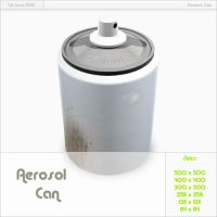 Aerosol Can by Carvetia