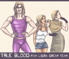 True Blood doodle by Pulvis