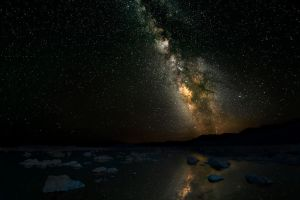 Mono Lake Starscape by swiftmoonphoto