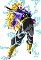 SSJ3 Future Trunks 2 by BoScha196
