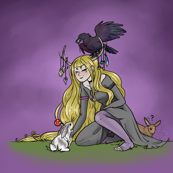 Witchsona 2015 by Knottyrabbit