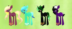 MLP FIM Adoptables by Ambercatlucky2