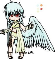 Angel Gal Acution CLOSED by weweameme