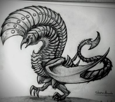 Royal Crested Dragon by Sanchez15