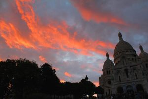Sunset in Paris by eightball-599