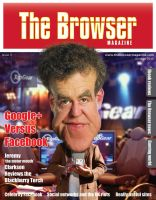 The Browser Magazine Cover commission by RodneyPike