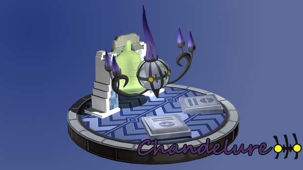 Chandelure by cuate2