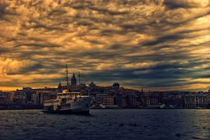 evening ship by 1poz