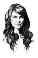 Amanda Tapping as Helen Magnus by EllaDee1983