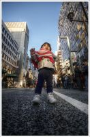 First Steps in Ginza by Graphylight