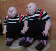 Tweedledum and Tweedledee ( by Vladimir Sukhanov ) by Sukhanov