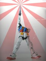 RX-78-2 FINAL POSE by Aera83