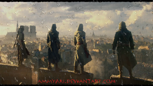 Assassin's Creed Unity Brotherhood by Ammyari