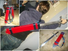 Trunks Cosplay Sword by Rider4Z