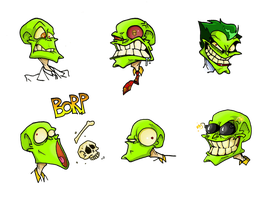 Mask Emoticons by Boredman