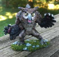 Owlbear by MiniatureMistress