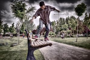 bs. boardslide *hdr by stow