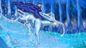 suicune by Nyjon
